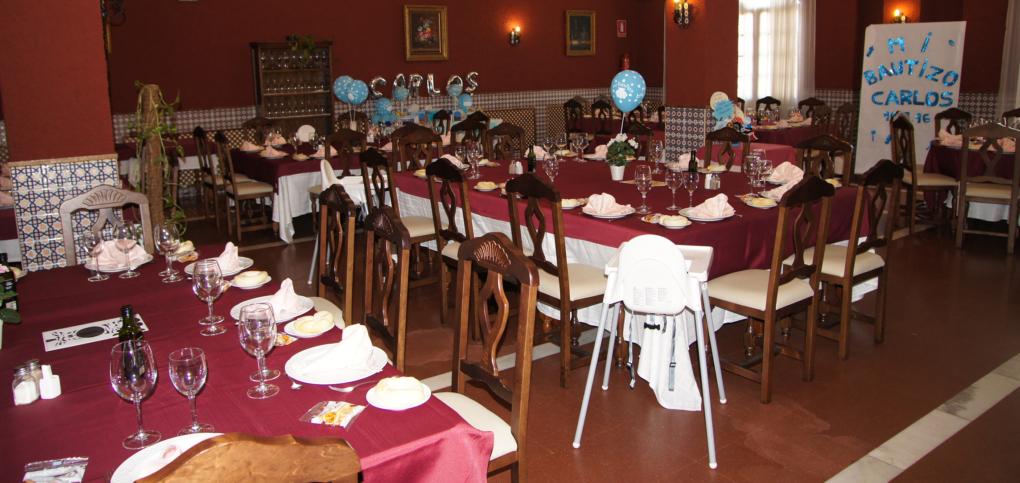 Celebre el Bautizo en Mesón Alberto